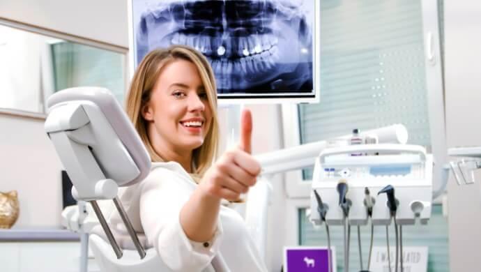 הצלחת טיפולי שיניים